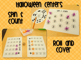 Pumpkins Unit FREEBIE & Halloween Centers