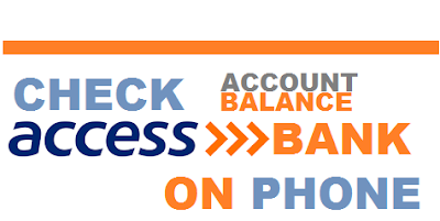 How To Check Access Bank Account On Phone