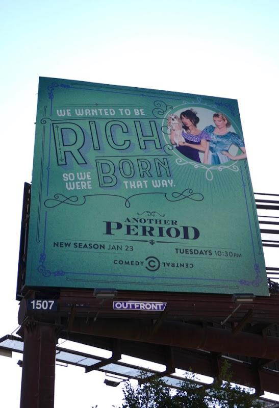 Another Period rich born that way season 3 billboard