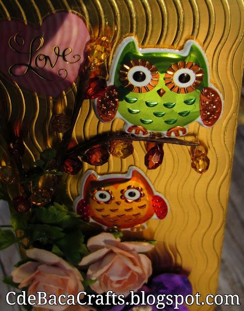 Handmade Cute Card Ideas by CdeBaca Crafts blog.