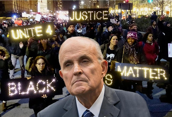 "Inflamatorio, ex alcalde Guiliani acusa de ""racista y anti americano"" al movimiento Black Lives Matter"