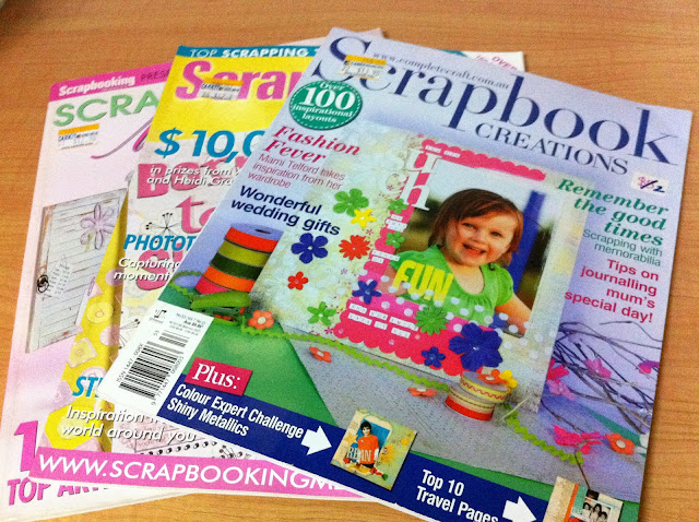 Image result for scrapbooking magazines