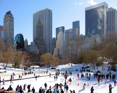patinoire de Central Park