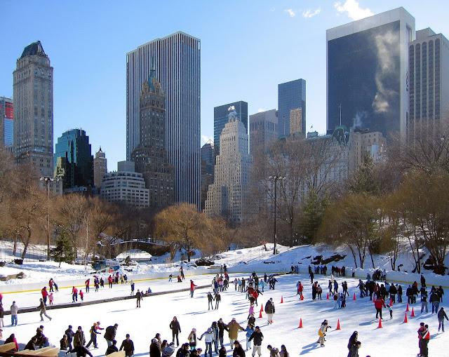 patinoire de Central Park