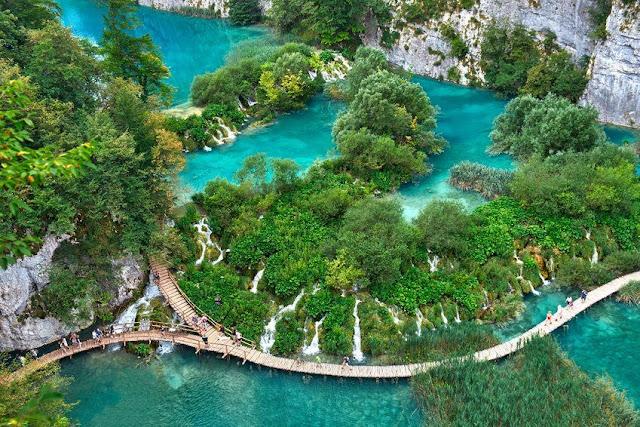 Danau Plitvice, Kroasia