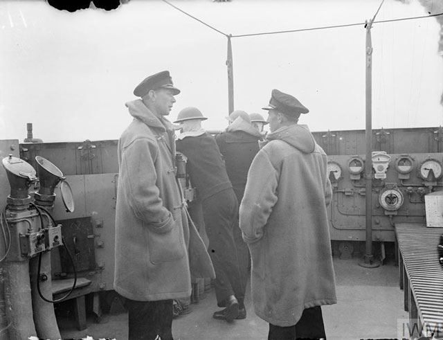 Officers aboard HMS Adamant, 26 March 1942 worldwartwo.filminspector.com