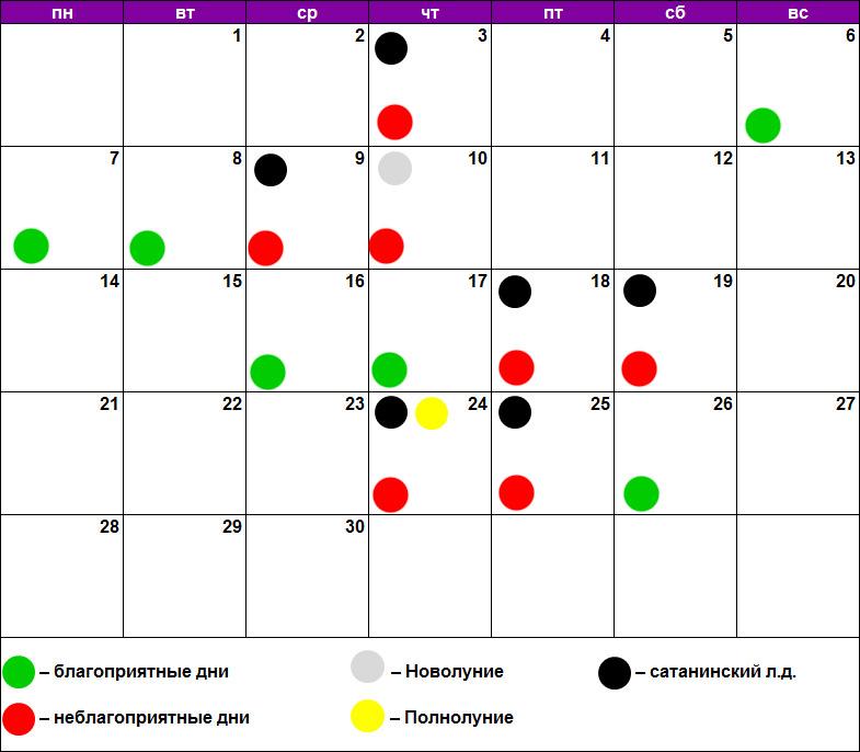 Лунный календарь массажа июнь 2021