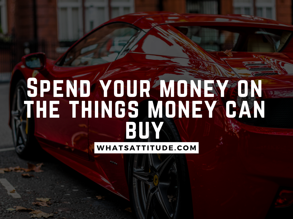 Money is Everything Quotes
