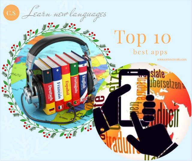 Top 10 des meilleures applications pour apprendre de nouvelles langues