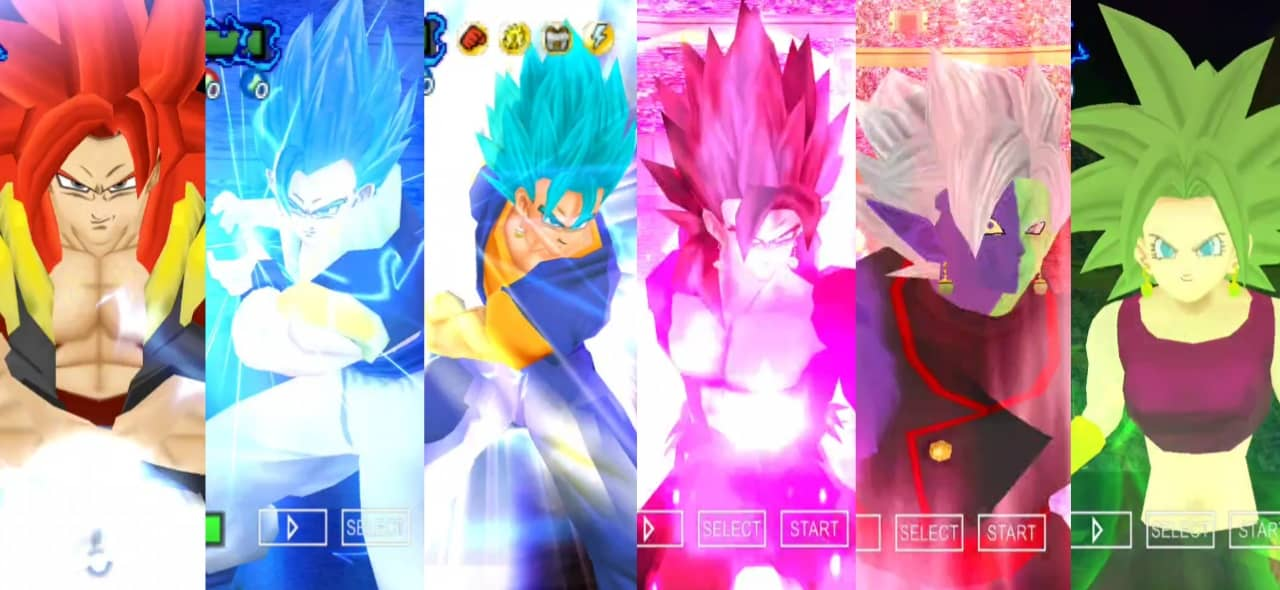 Dragon Ball Super All Fusions Characters