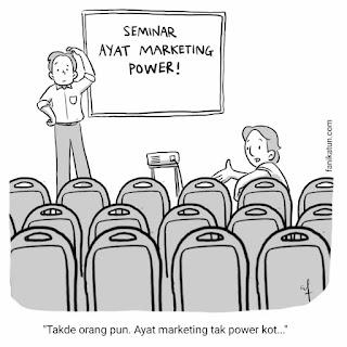 seminar ayat marketing power