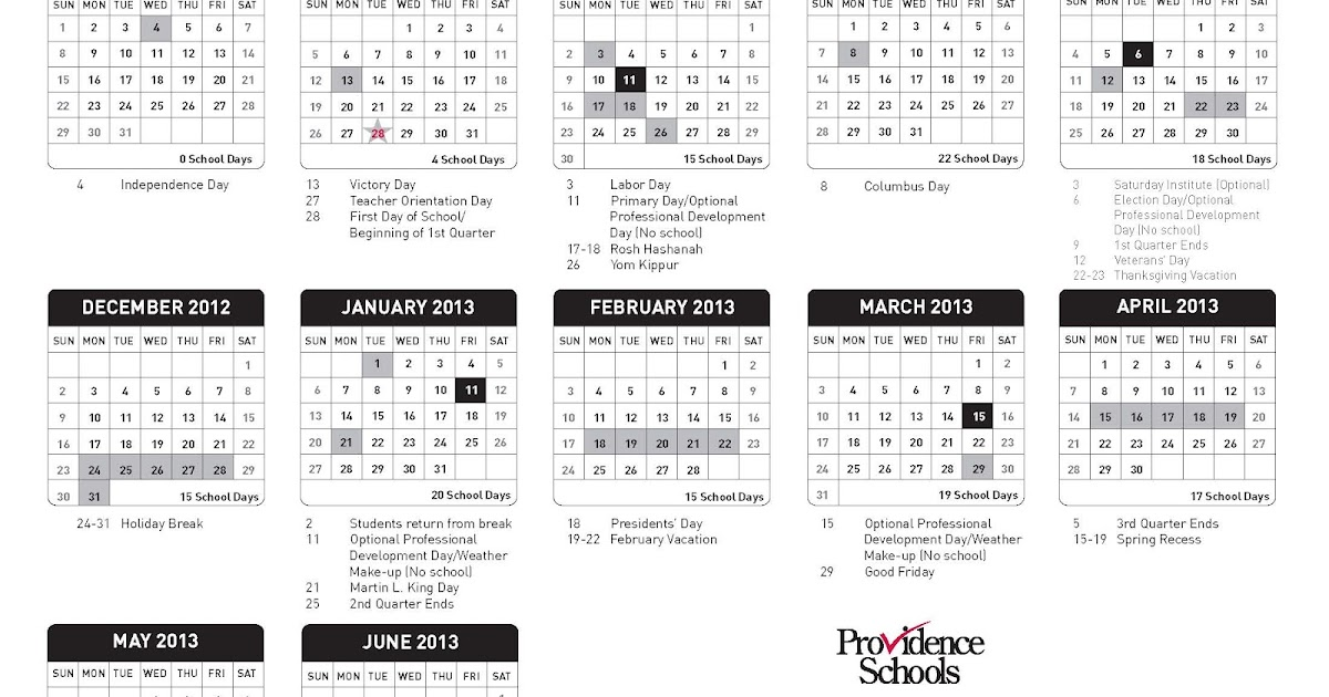 Providence Schools (and beyond): Final 2012-2013