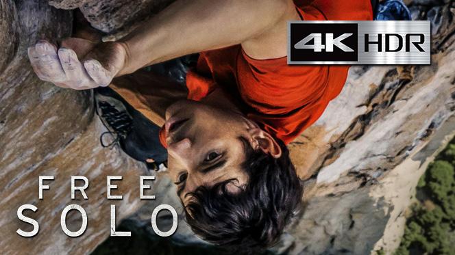 Free Solo (2018) 4K UHD [HDR] Latino-Ingles
