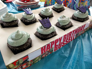 Transformer Birthday Party Edible Glitter