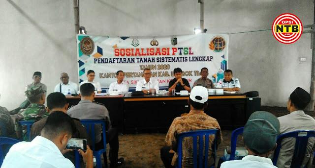 Tahun 2020, Lombok Timur Dapat Jatah 54.850 Sertifikat Program PTSL