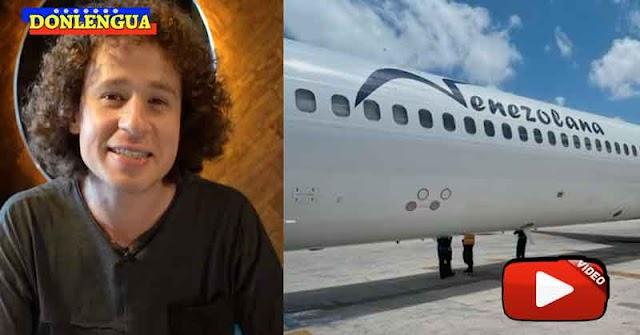 Luisito Comunica le da hasta con el tobo a la Aerolínea Venezolana por ser la Peor del Mundo