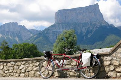 Cyclotouring Mont Aiguille Vintage Tandem Peugeot TM 8