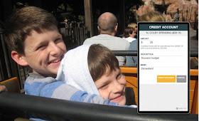 Brothers at Disneyland