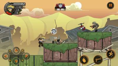 Screenshots of Metal Soldiers 2 Mod Apk (Unlimited Money + Unlocked Everything)