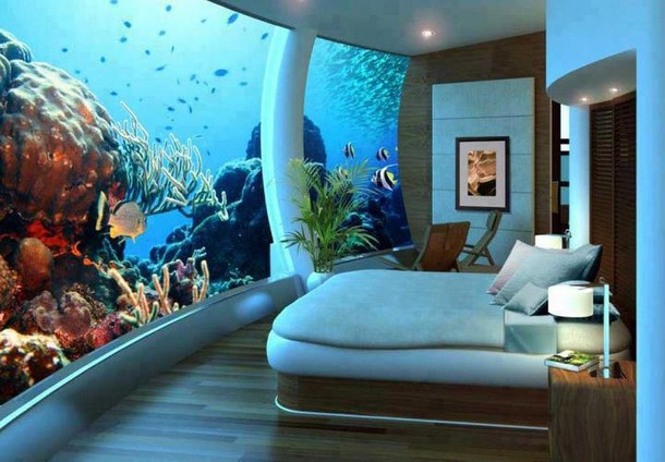dream home Under Water Bedroom