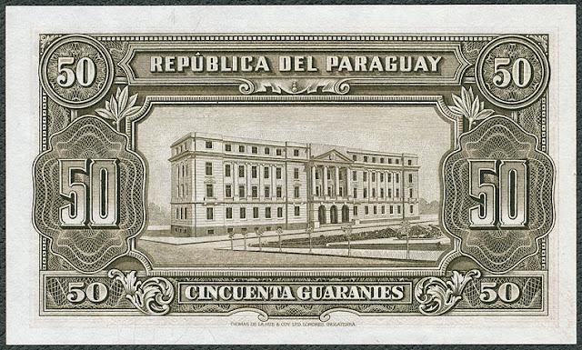 Billetes Paraguay Guaraníes