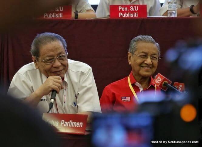 Tun Mahathir DAP