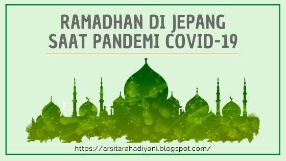 Islam di Jepang, Ramadhan di Jepang Saat Pandemi COVID-19