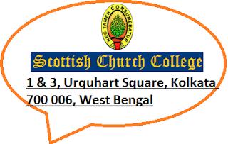Scottish Church College, 1 & 3, Urquhart Square, Kolkata 700 006, West Bengal