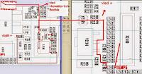 NOKIA C2 - 03 LAMPU LCD TANPA TRANSISTOR