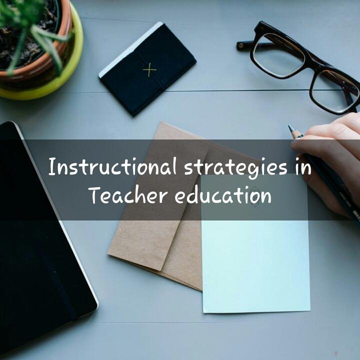 Earnpaisaonline Instructional Strategies In Teacher Education