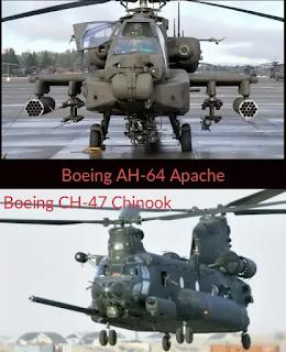 Boeing AH-64 Apache-Boeing CH 47 Chinook