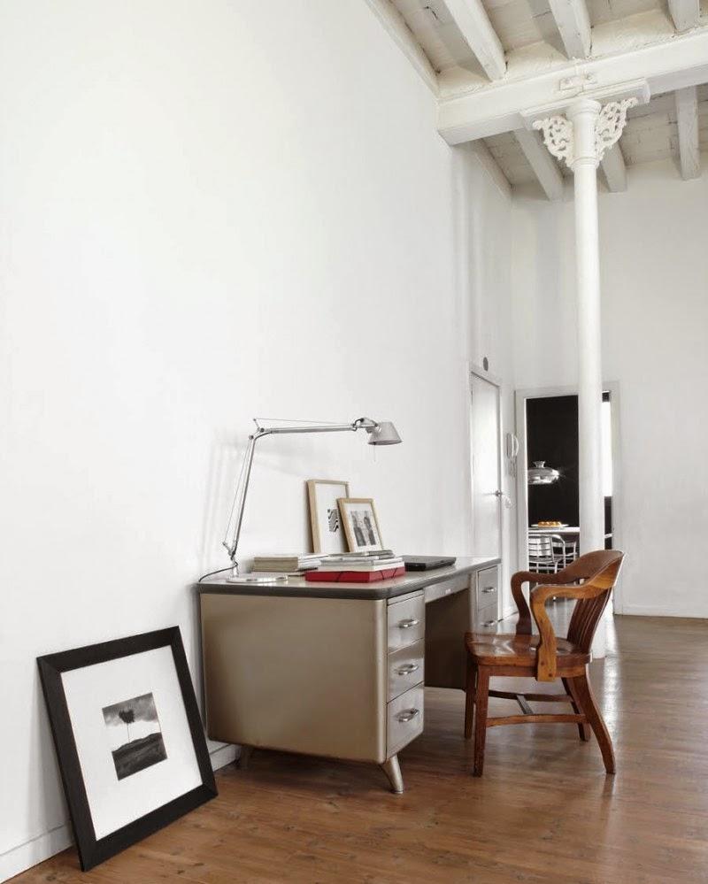 New York Loft Rentals: White Apartment: New York Style Loft In Barcelona