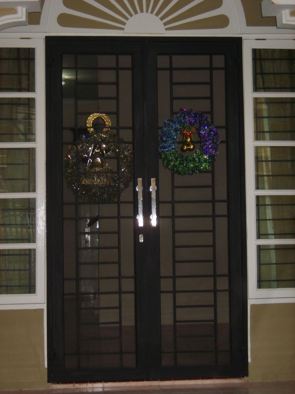 83 Pintu Besi Buka Dua Interior Dan Dekorasi Rumah