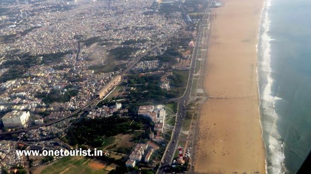 chennai view from flight
