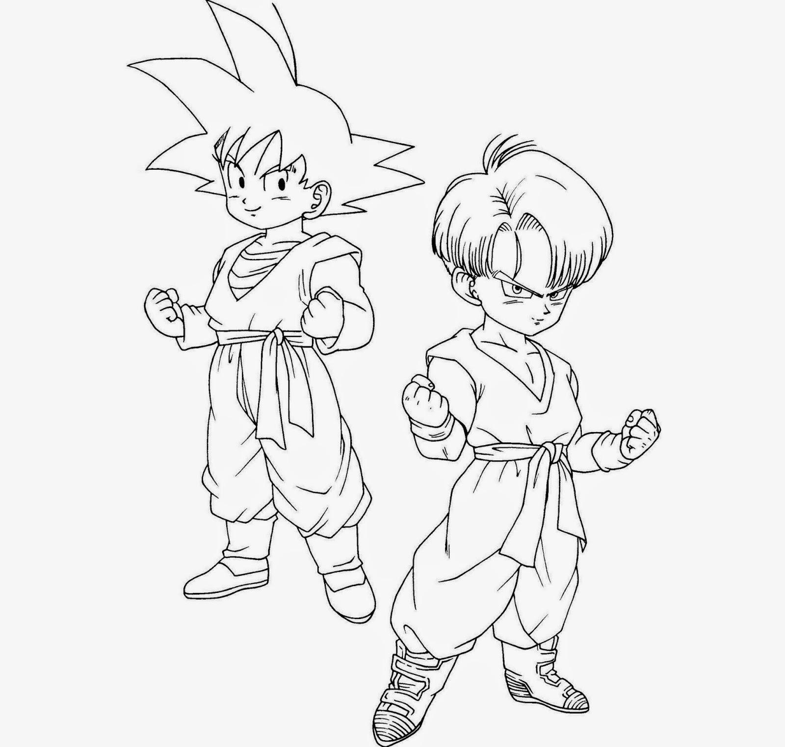 Início Desenhos Do Dragon Ball Z Para Colorir Melhores
