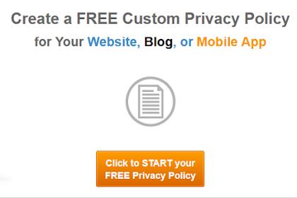 Cara Cepat dan Mudah Membuat Privacy Policy di Blog Terbaru