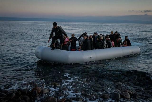 Λέσβος: Άλλοι 90 λαθρομετανάστες έφτασαν με λέμβους