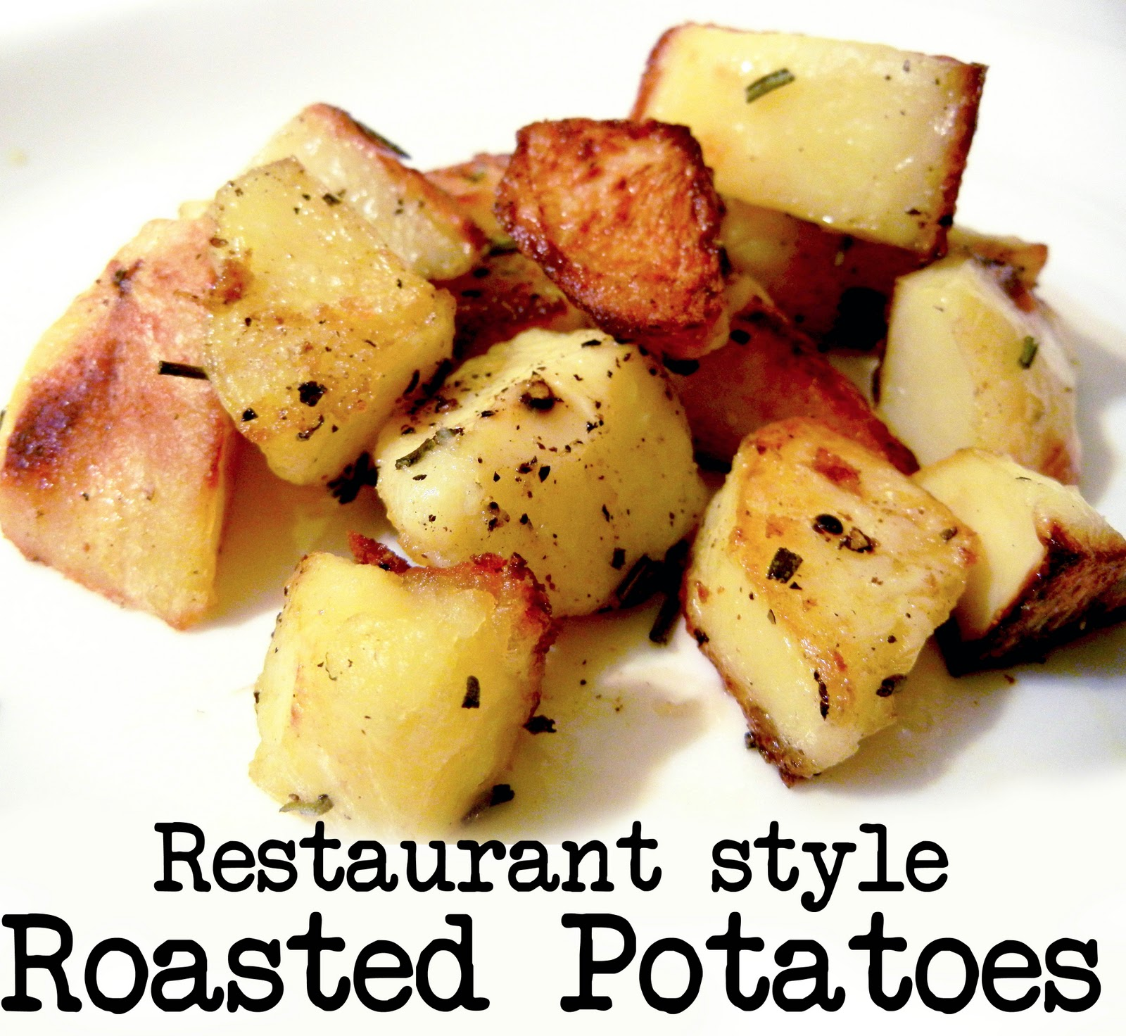 Derek's Kitchen: Restaurant Style Roasted Potatoes