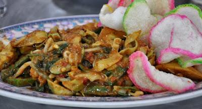 Lotek Cirebon, Resep Lotek Cirebon, Kuliner Cirebon, bisnis kuliner, masakan sehat, menu sehat