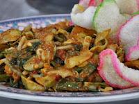 Resep masakan sehat: Lotek khas Cirebon