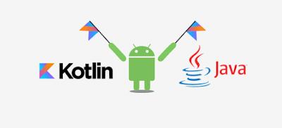 Mulai Tahun 2018 Secara Resmi Aplikasi Android Akan dikembangkan dengan Bahasa Pemrograman Besutan Google ini, dan Secara Default Akan Menggantikan Bahasa Pemrograman Java
