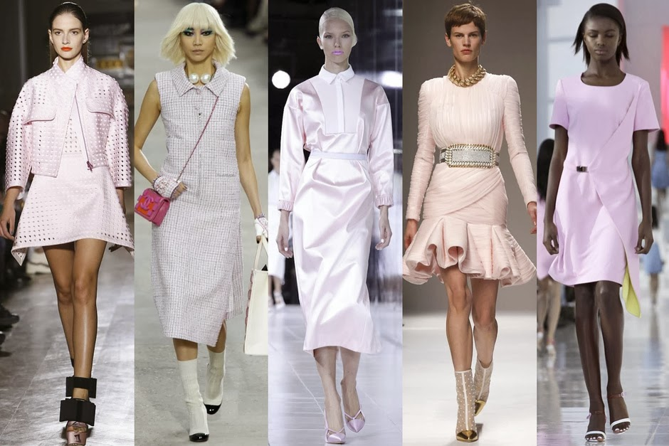 Pretty in Pink: John Galliano, Chanel, Prabal Gurung, Balmain, Preen