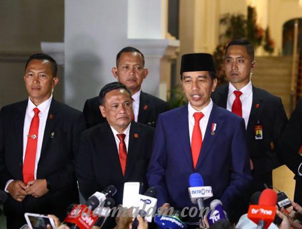 Daftar Resmi Kabinet Jowoki  Periode ke 2 Tahun 2019-2024