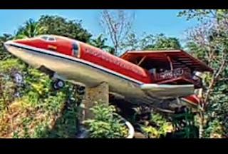 desain rumah terunik di dunia rumah berbentuk pesawat