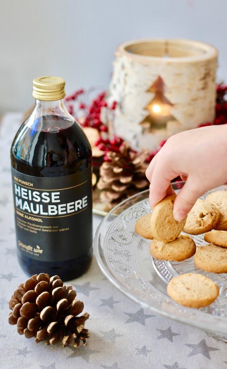 Gewußt wie Hildegard von Bingen Dinkel Maroni Kekse