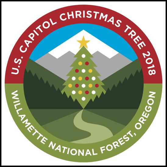 2018 U.S. Capitol Christmas Tree Logo
