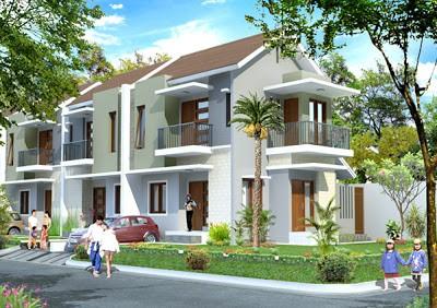model rumah cluster 6