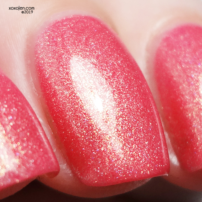 xoxoJen's swatch of Sayuri Nail Lacquer Ice Cold