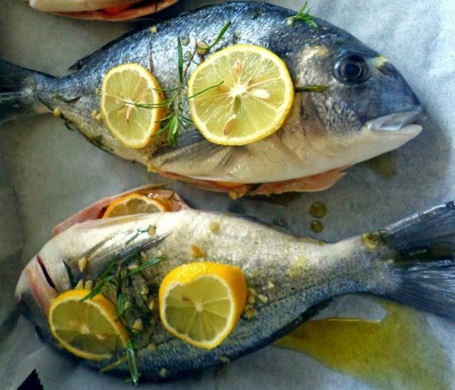 bake the fish