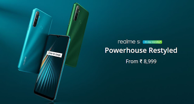 Realme 5i launched in India quad-camera setup with 5000mah battery, Full specification